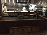 kitchen at Scales